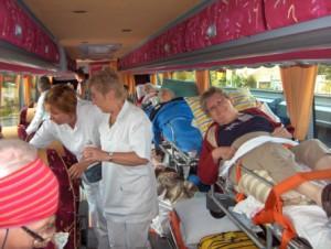 zieken ambulancebus-binnen wp