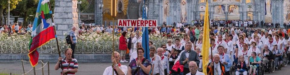 Lourdesbedevaart Antwerpen